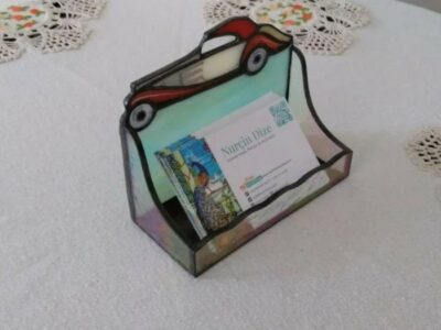Classical_Car_Stained_Glass_Business_Card_Holder3a