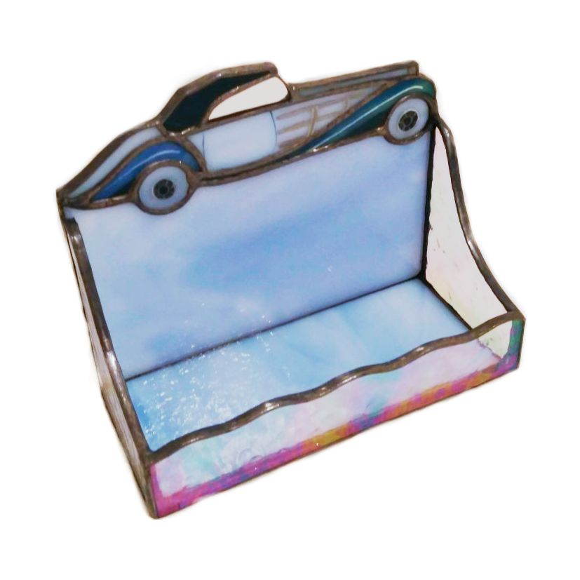 Classical car stained glass business card holder nurin dize you are here home projects classical car stained glass business card holder colourmoves