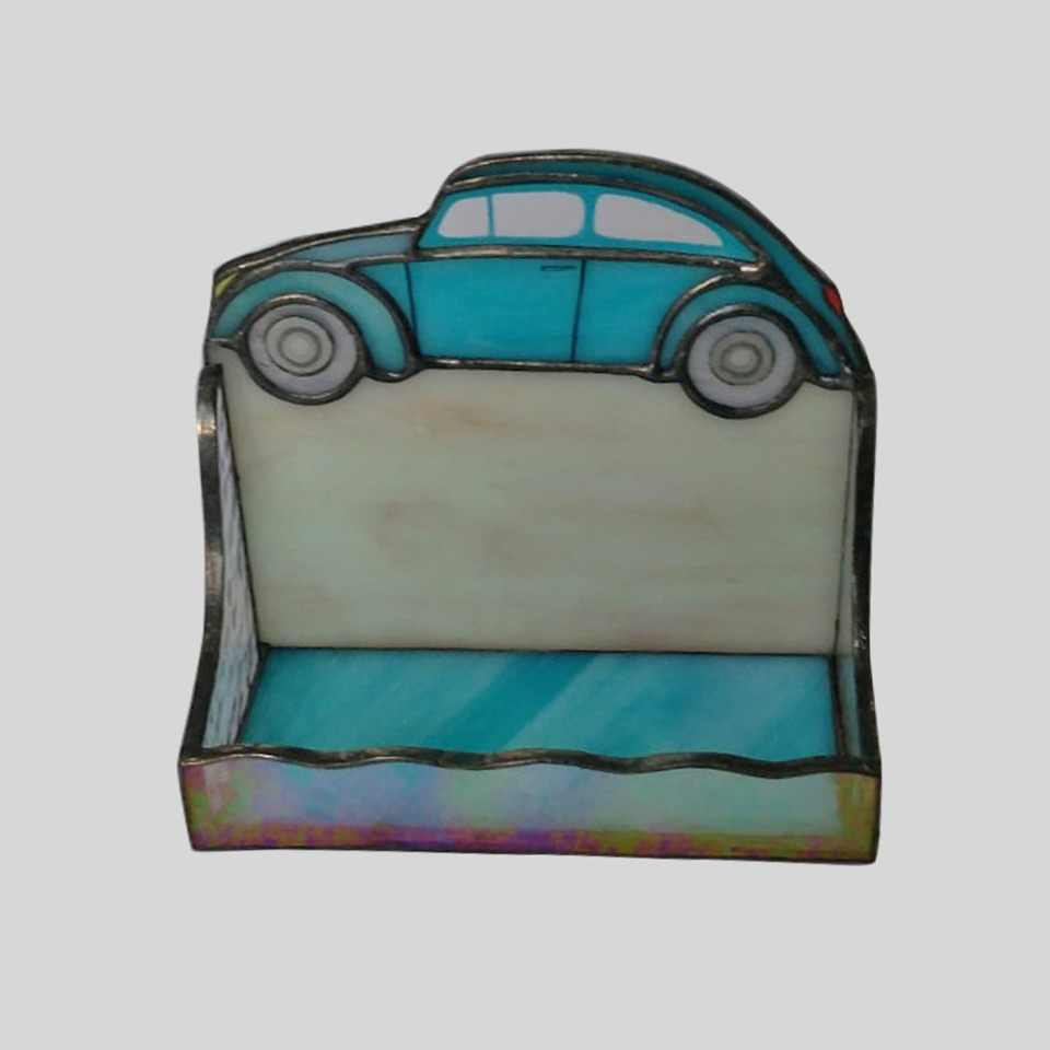 Vintage car stained glass business card holder nurin dize vitray vintage car stained glass business card holder nurin dize vitray mozaik colourmoves