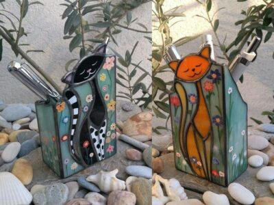 Cat_Stained_Glass_Pen_holder-a