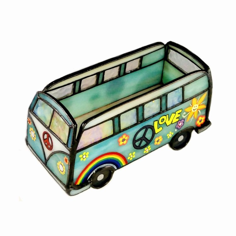 Hippine Van Business Card Holder Stained Glass & Painting – Nurçin ...
