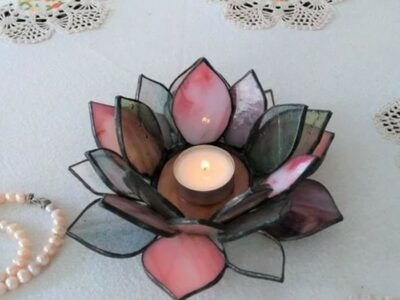 Lotus_Stained_Glass_Candle_Holder4